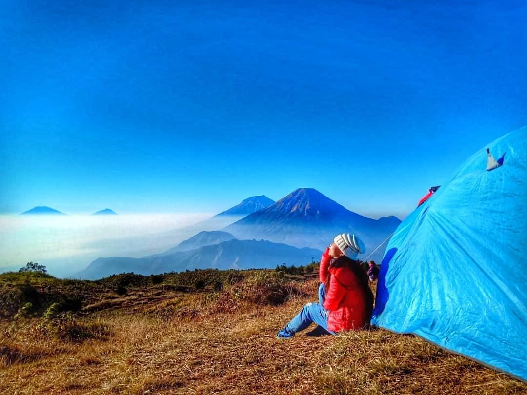 Wisata Dieng Camping ke Gunung Prau