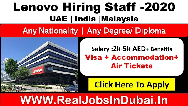 Lenovo Career Vacancies Available In UAE , India & Malaysia.
