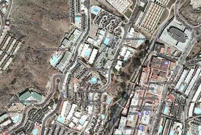 Un herido incendio en apartamentos de Mogán, Gran Canaria