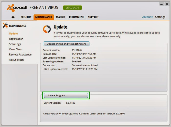 How to Manually/Offline Update Avast Virus Definitions (VPS)