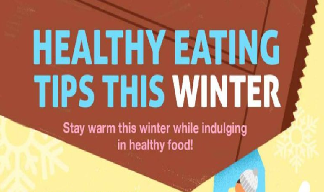 Healthy Eating Tips This Winter #infographic