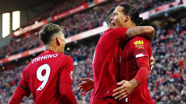 Thắng nhọc Brighton, Liverpool cân bằng kỷ lục khủng