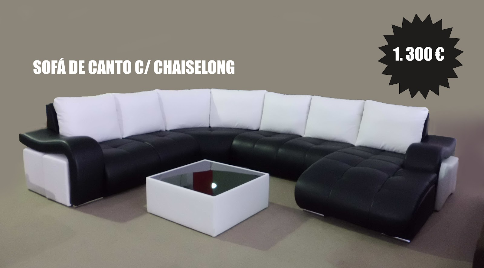 Novidade Só Sofás: Sofá de Canto c/ Chaiselong | Só Sofás
