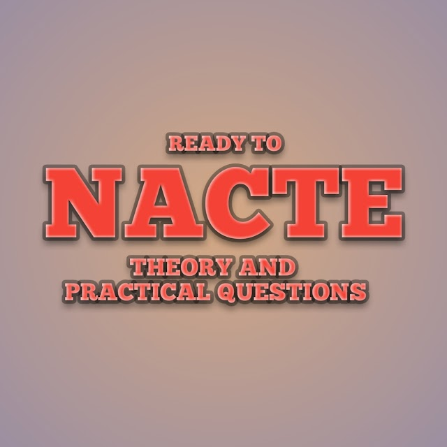 READY TO NACTE: CMT NTA LEVEL 5 THEORY AND PRACTICAL EXAMINATION ARTICLES