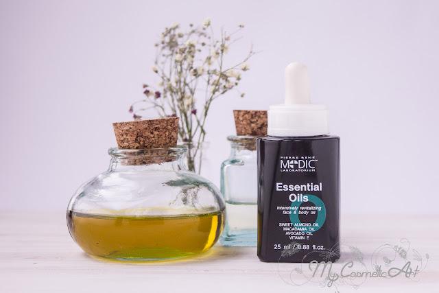 Essential Oils, el último lanzamiento de Pierre René Medic, un aceite facial regenerante e hidratante.