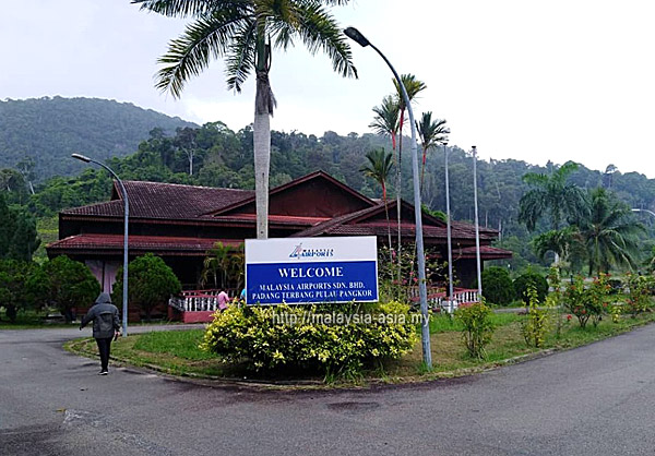 Airport at Pangkor Island