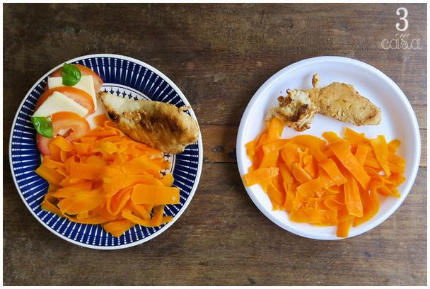 macarrão cenoura como fazer