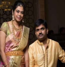 Director Maruthi Dasari Family Wife Parents children's Marriage Photos