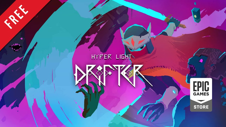 hyper light drifter free pc game epic games store indie action role-playing game heart machine