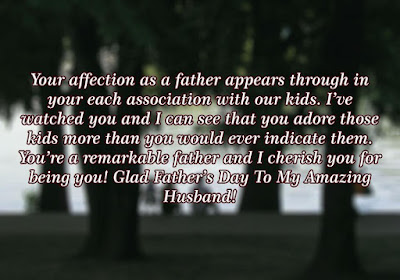 Happy Father's Day Quotes for Husband 2017