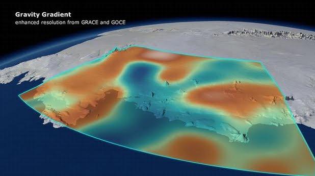 FOTO Cambio climatico Gravita' terrestre Disgelo Ghiacciai Antartide
