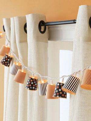 Diy Halloween String Lights : Halloween Craft Ideas
