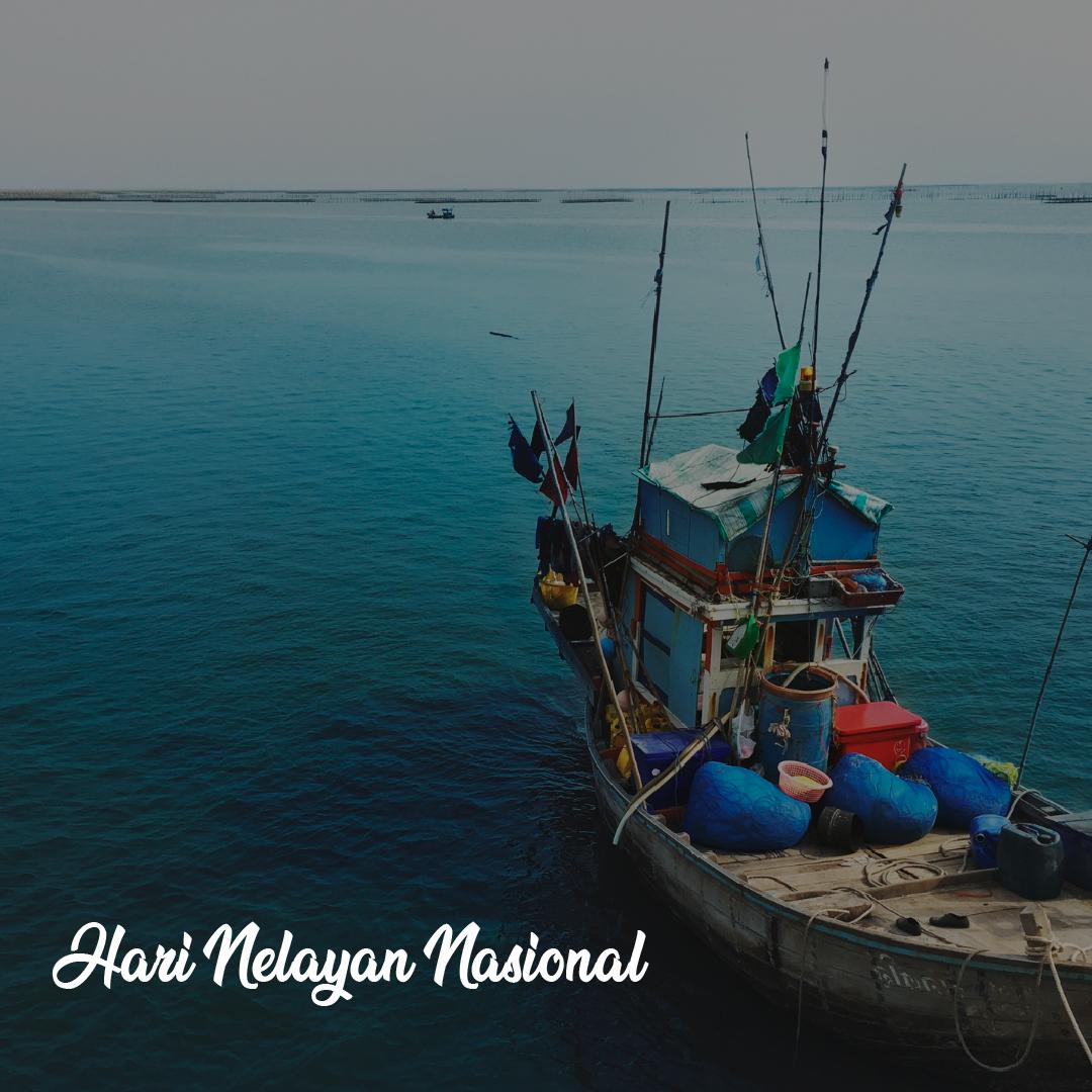 Gambar Ucapan Selamat Hari Nelayan Nasional 2021