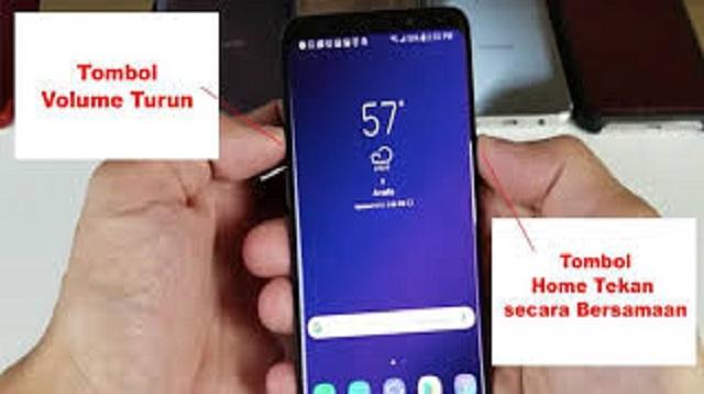 Cara Screenshot Samsung A51