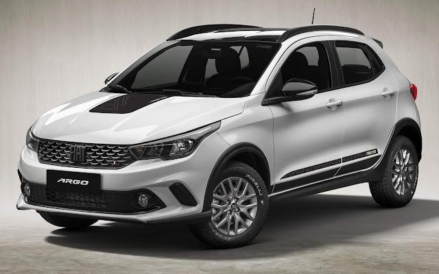 Novo Fiat Argo Trekking 2021