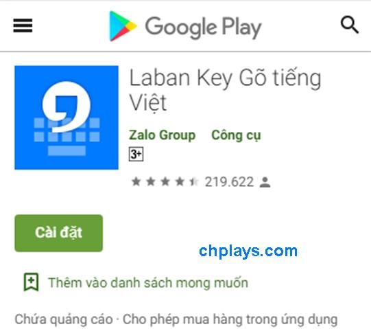 Tải bàn phím gõ tiếng Việt - Laban Key Apk cho điện thoại Android a