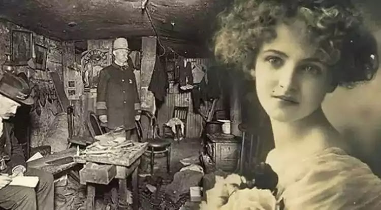 Blanche Monnier at young age before incarceration