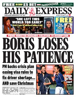Read Online Daily Express Magazine 25 September 2021 Hear And More Daily Express News And Daily Express Magazine Pdf Download On Website.