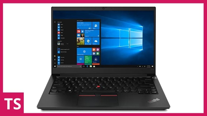 Lenovo ThinkPad E14 laptop for engineering students in India.
