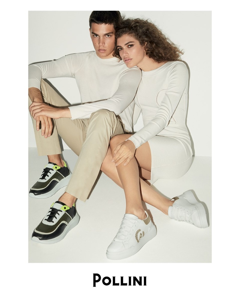 Federico Spinas and Valentina Sampaio appear in Valentina Sampaio spring-summer 2020 campaign