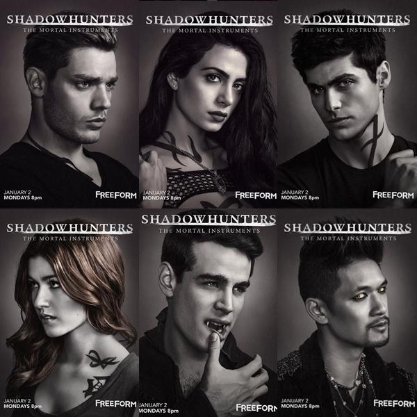 Poster Shadowhunters Carol Fernandes Blog