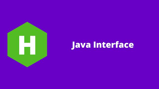 HackerRank Java Interface problem solution