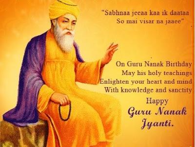 Guru Nanak Dev Ji Gurpurab Pic