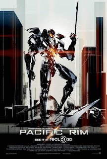 Pacific Rim, RealD 3D, 3D, Movie, Poster, Regal Cinemas, Konami, Metal Gear Solid, Godzilla, Yoji Shinkawa