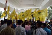 PMII Gelar Aksi Tolak Disahkannya UU MD3