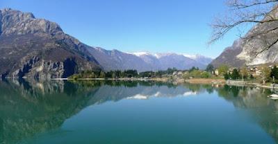 Lago di Mezzola Sondrio - Gite in Lombardia