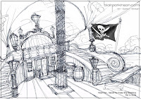 Sketch for the Pirate Ship
