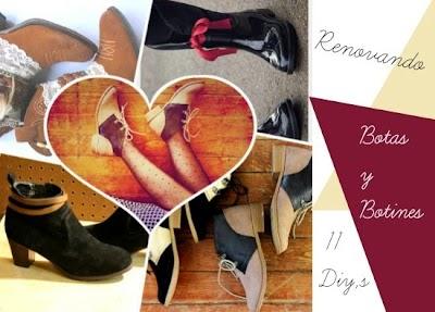 Renovando nuestras botas y botines tutoriales