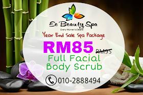 Terengganu, spa murah, facial, twb,