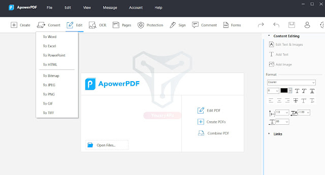 تحميل برنامج Apowersoft ApowerPDF 5 قارئ ملفات PDF للكمبيوتر
