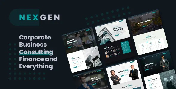 Best Business & Consulting HTML Template