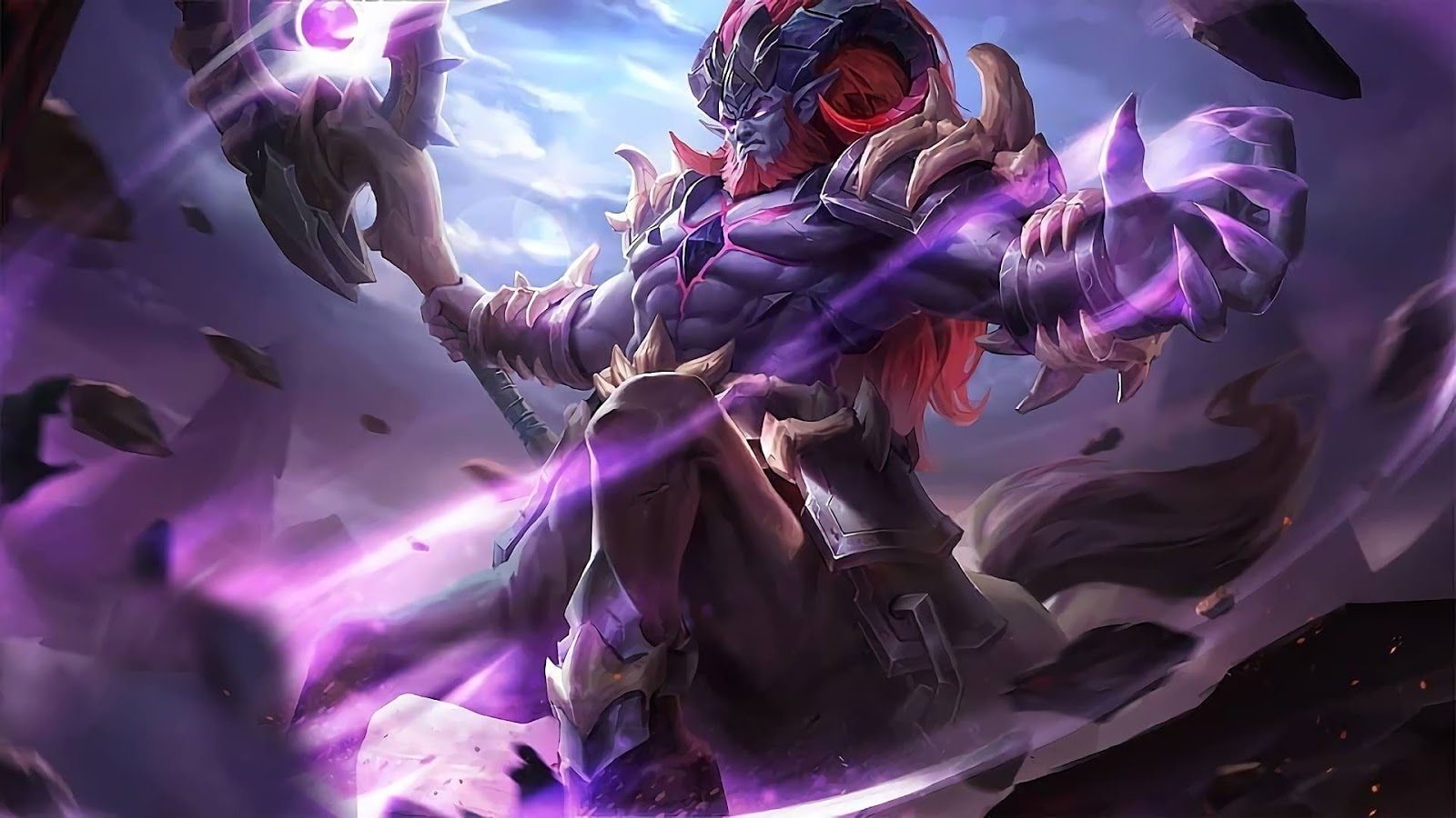 Wallpaper Hylos Abyssal Shaman Skin Mobile Legends HD for PC