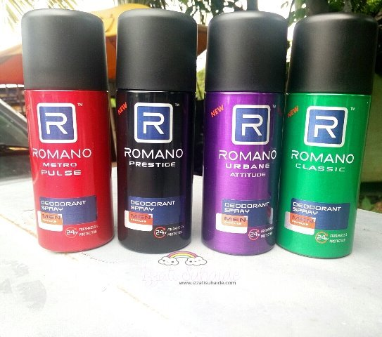 Romano | Tingkatkan Keyakinan Diri Untuk Lelaki Urban