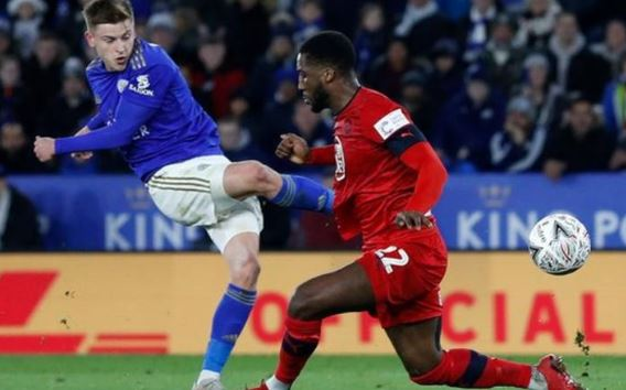 Leicester qualify for fourth round after victory against Wigan Athletic