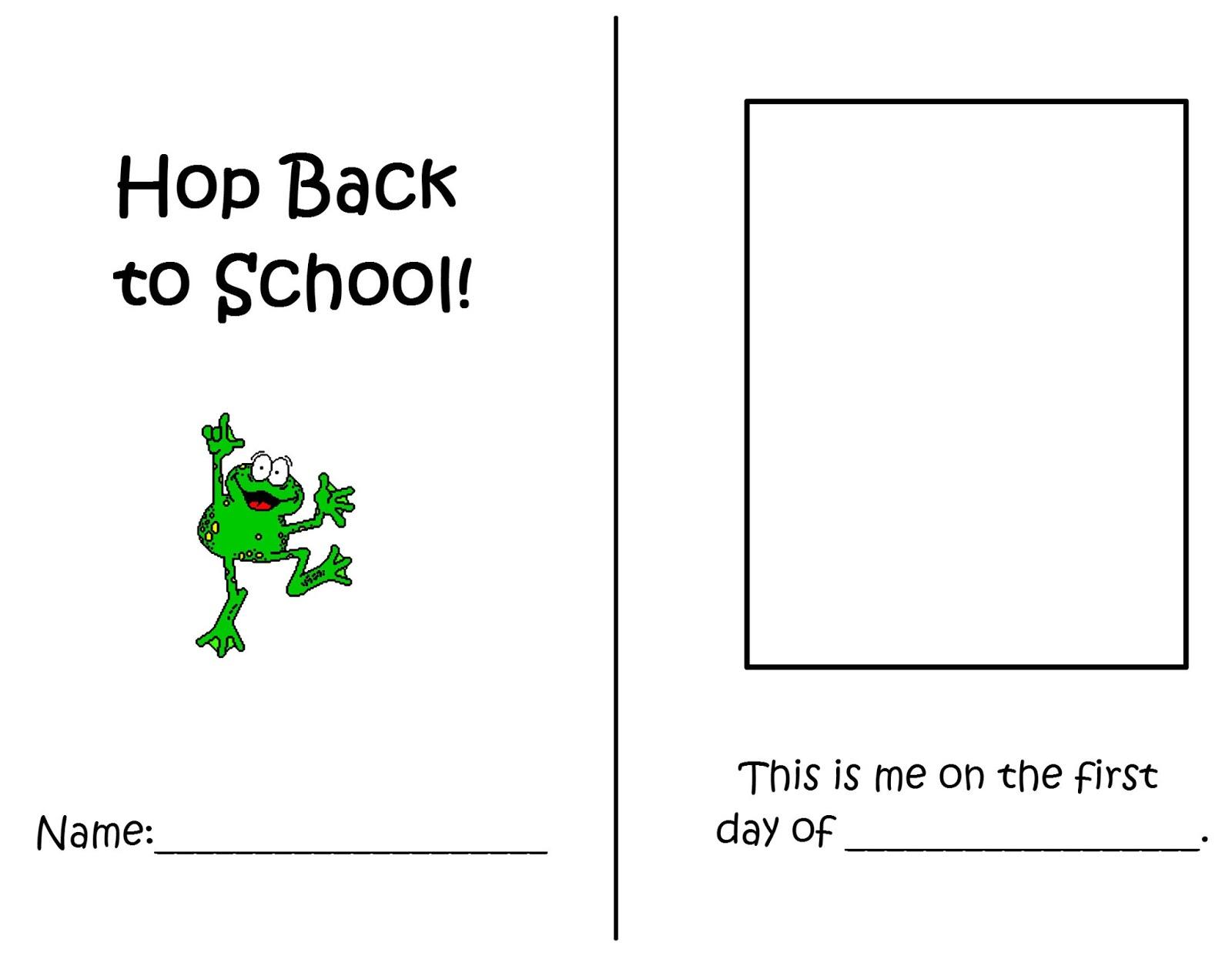 Hop Back To School Packet 1 Week Freebie