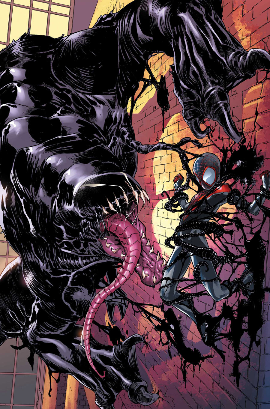The Venom Site: ultimate comics spider-man 16.1 - 21