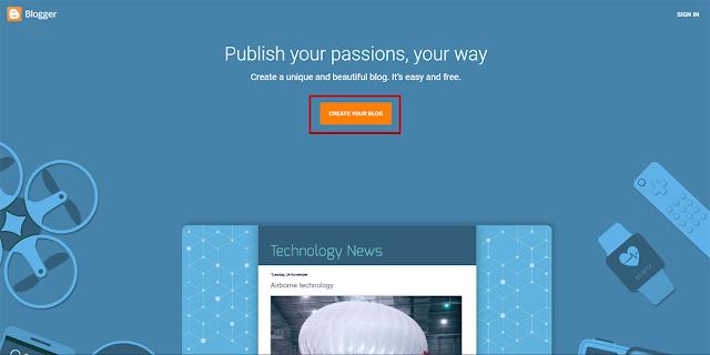 شرح كيف تنشئ مدونة مجانية على بلوجر للمبتدئين بلتفصيل, شرح للمبتدئين بلصور والتفاصيل