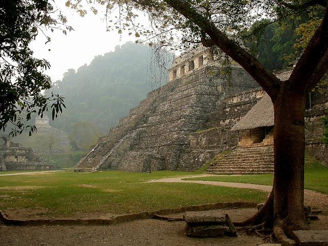 temple des Inscriptions Palenque