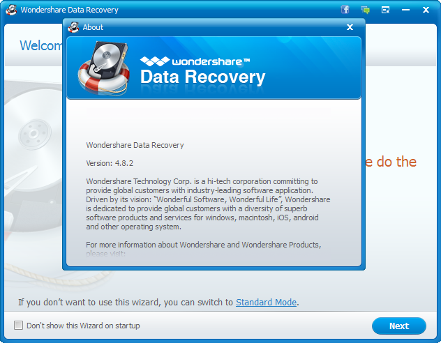wondershare data recovery serial key free download for mac