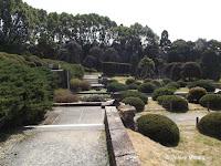 Sunken Garden, part of the Kyoto Botanical Gardens, Japan