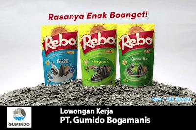 Lowongan Kerja Porman Produsksi Packing PT. Gumindo Bogamanis Cikande Serang