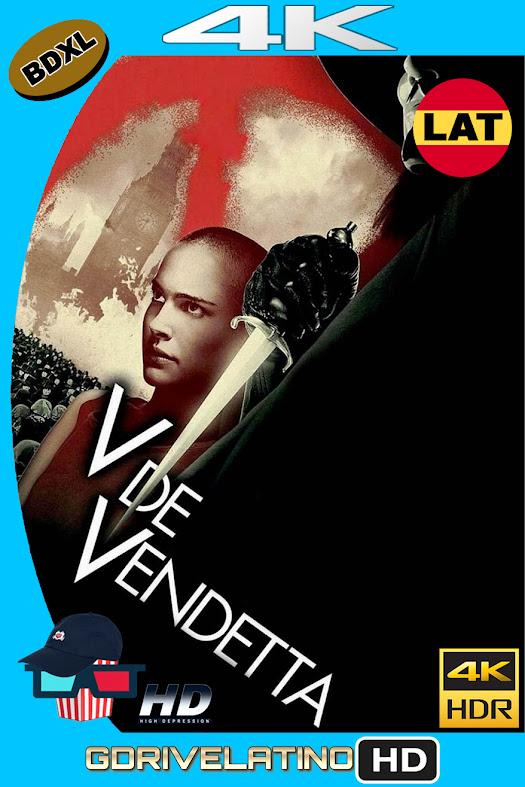 V de Venganza (2005) BDXL 4K UHD HDR Latino-Ingles ISO
