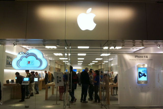 Loja da apple no Westfield Century City em Los Angeles