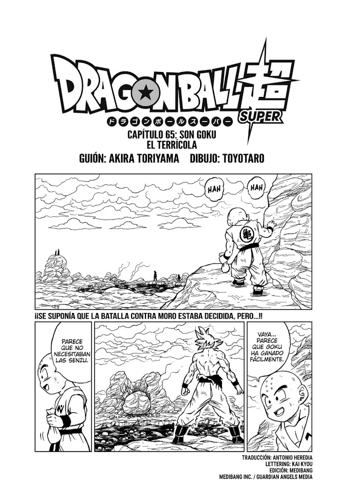 Dragon Ball Super Manga 65 Español