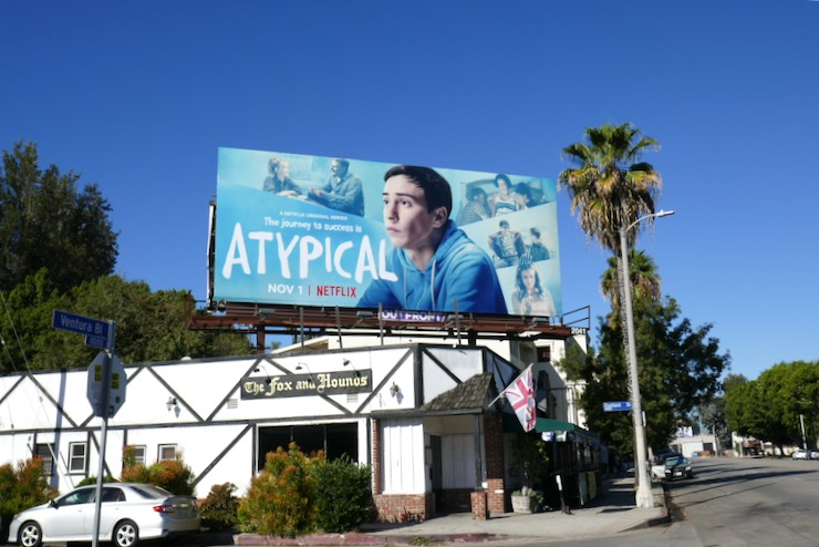Atypical season 3 billboard