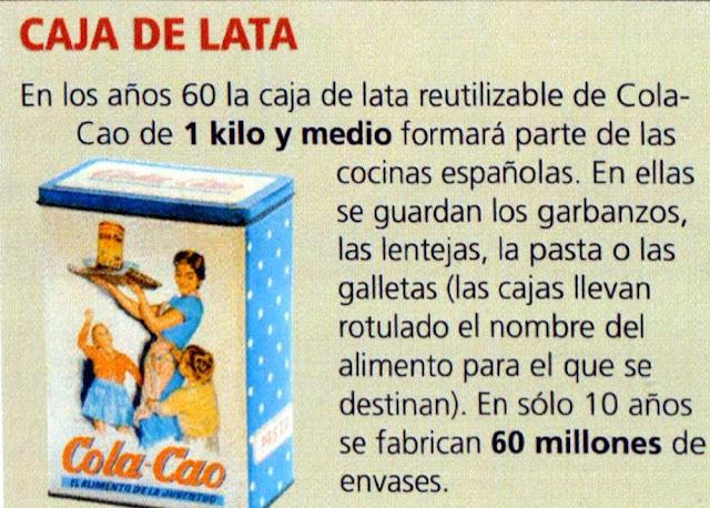 Anuncio de Cola Cao.